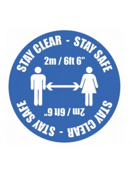 Coronavirus - Social Distancing Floor Graphic Safety Sign