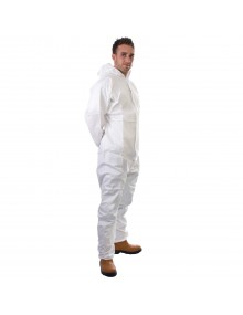Supertex® SMS Type 5/6 Coverall - White Food Industry