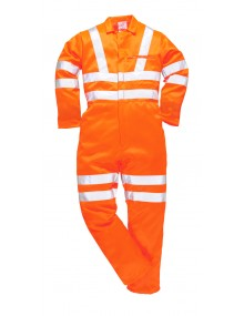 Portwest RT42 Hi-Vis Coverall Clothing - Reg length