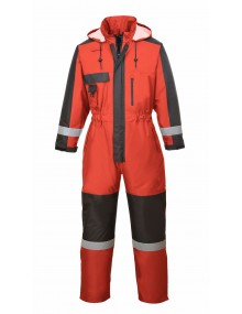 Portwest S585 - Winter Coverall - Red