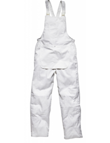 Worksafe Painters White Bib & Brace Clothing