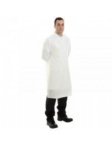 Disposable Aprons On-A-Roll - White - Case 5 x 200 Clothing