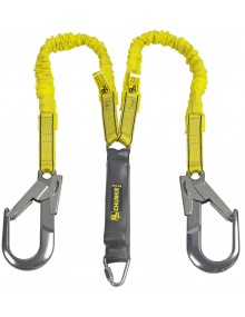 P+P 90306 Chunkie Stretch 2 Tails Fall Arrest Lanyard Personal Protective Equipment