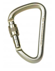 P+P 76031 Steel Offset D Screwgate Karabiner Personal Protective Equipment