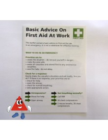 HSE First Aid Guidance Leaflet LEAFIR005 First Aid