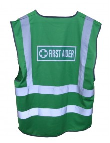 First Aider Waistcoat First Aid