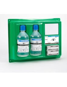 Steroplast Eyewash Station Plate with 500ml Bottles 1416 Kits