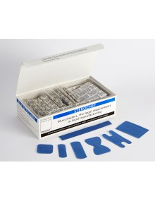 Steroplast Sterochef 100 Assorted Blue Detectable Plasters  Plasters