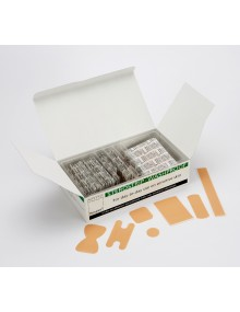 Steroplast  Washproof Plasters box of 100 - 7158S Plasters
