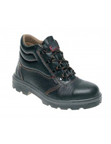 Toesavers C001 Black Leather Safety Boots