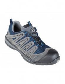Gavilan Blue/Grey Metal Free Safety Trainer Shoes (4207) Footwear
