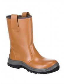 FW06 Tan Rigger Boots Footwear