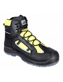 Portwest FC59 - Portwest Compositelite Retroglo Hi-Vis Boot S3 WR ESD - Yellow Footwear