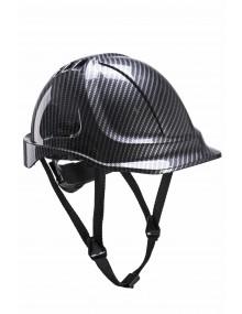 Portwest PC55 Carbon Look Helmet Personal Protective Equipment