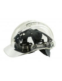 Portwest PV50 Peak View Translucent Helmet Personal Protective Equipment