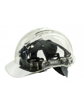 Portwest PV50 Peak View Translucent Helmet Personal Protective Equipment