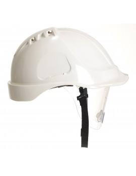Portwest PW55 Retractable Visor Helmet    Personal Protective Equipment