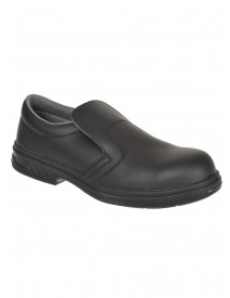 Portwest FW81 Slip-on Safety Shoe - Black