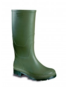 Vital Green/Black PVC Non-Safety Wellingtons (VW057) Footwear