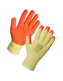 Supertouch Latex Palm Coated Handler Glove Mechanical Hazzard