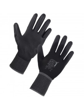 Supertouch Electron-B  PU Palm Coated Glove Mechanical Hazzard