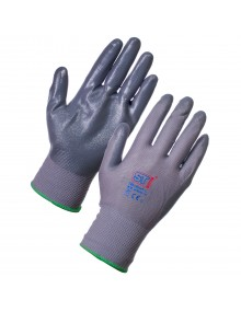 Supertouch Nitrotouch-G Glove  Nitrile Palm Coated Glove Mechanical Hazzard