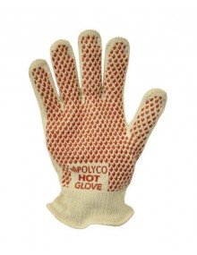Polyco Double Cotton Nitrile Grip Hot Glove 28cm Specialized