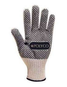 Polyco Firmadot PVC Dot Coated Knitted Ambidextrous Gloves Mechanical Hazzard