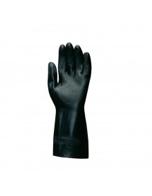 Mapa Technic Black Chemical Resistant Gauntlets Gloves