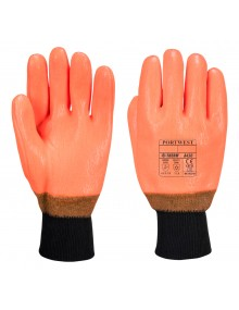 Portwest A450 - Weatherproof Hi - Vis Glove Gloves