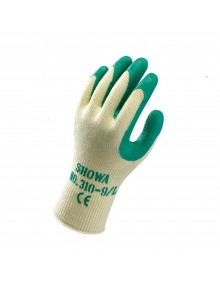 Showa 310 Green Latex Grip Gloves