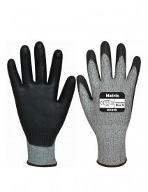 Polyco Matrix GH315 Cut 5 Palm Coated Gloves