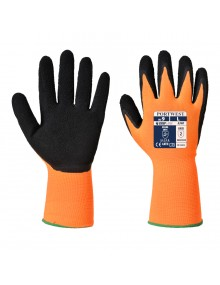 Portwest A340 - Hi-Vis Grip Glove - Latex Gloves