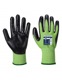 Portwest A645 - Green Cut - Nitrile Foam Gloves Gloves