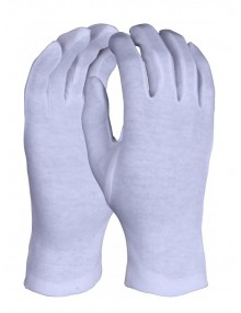 Bleached Stockinette Gloves - Pack of 12 pairs Gloves