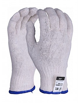 Mixed fibre gloves - Case of 240 pairs