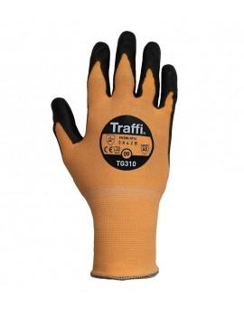 TraffiGlove TG310 Cut B PU Long Cuff Glove - Pack of 10 Gloves