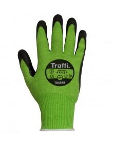 TraffiGlove TG6010 Cut F PU Glove - Pack of 10