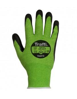TraffiGlove TG6010 Cut F PU Glove - Pack of 10 Gloves