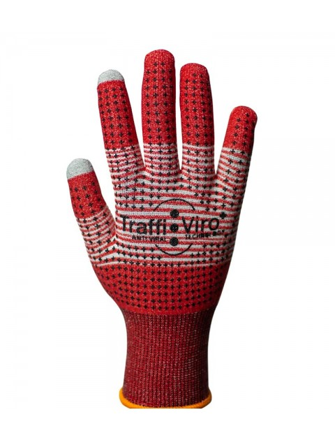 TraffiGlove TGL711 Viroblock Glove - Pack of 10  Gloves