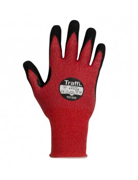 Traffiglove TG1240 palm dipped MicroDex Pack of 10 Gloves