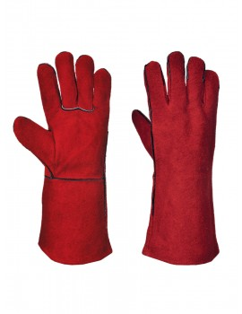 "A500 14"" Leather Welding Gauntlet Gloves"