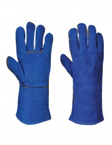 "A510 14"" Leather Welding Gauntlet Gloves"