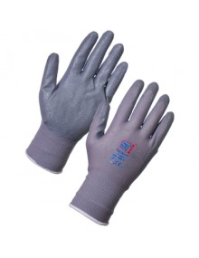 Supertouch Nitrotouch Foam Palm Coated Gloves Grey Gloves