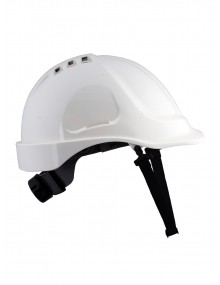 UCI Ratchet Wheel Adjustment Helmet - White
