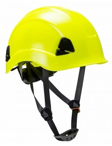 Portwest PS53 - Height Endurance Helmet - Yellow Personal Protective Equipment