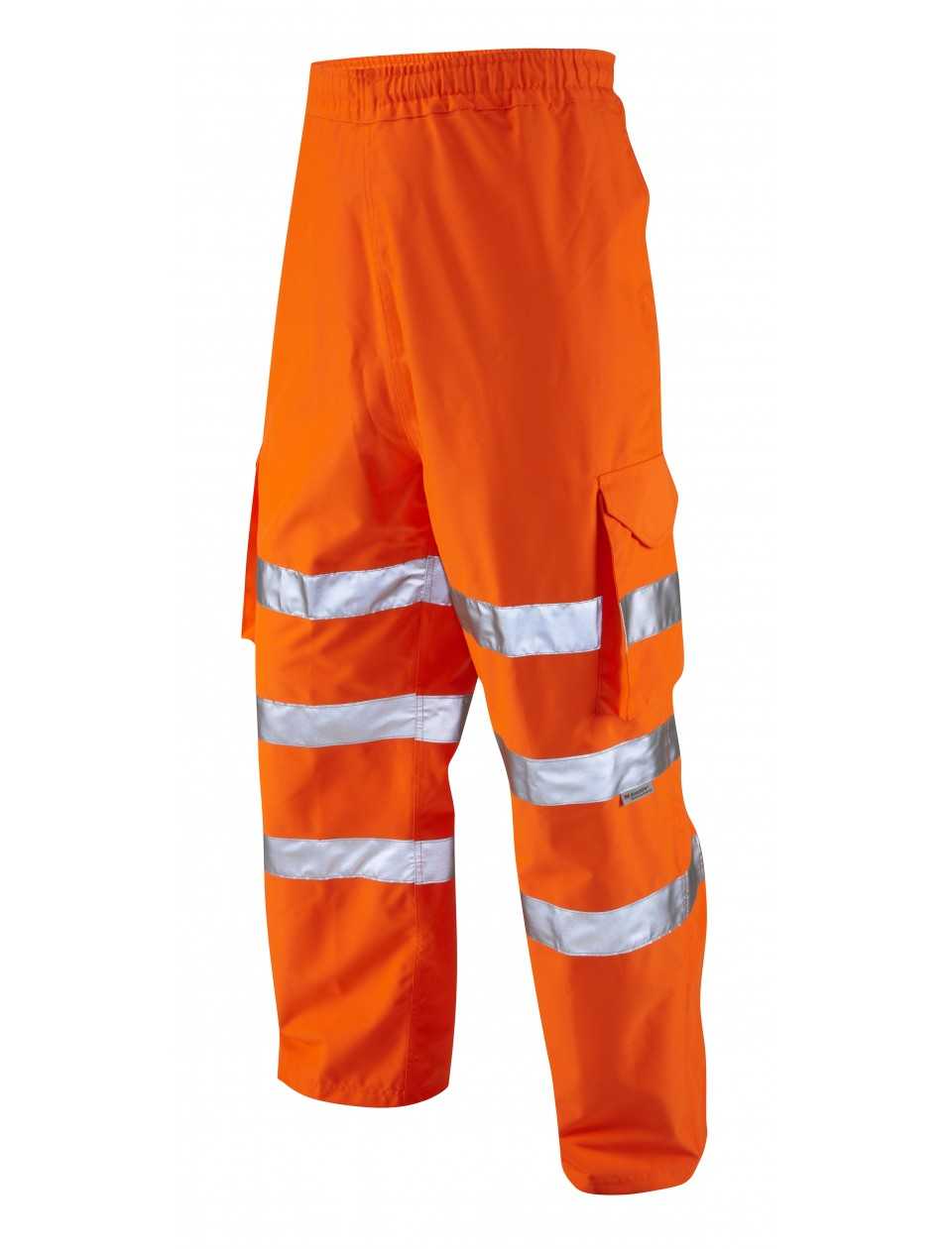 Leo Instow Orange Waterproof Overtrousers L02-O High Visibility