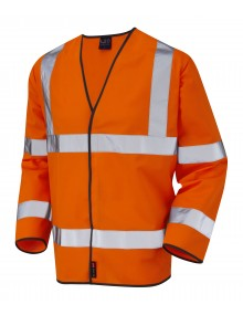 Leo Shirwell - ISO 20471 Class 3 Sleeved Waistcoat S01-O High Visibility