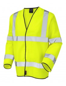 Leo Shirwell - ISO 20471 Class 3 Sleeved Waistcoat S01-Y High Visibility