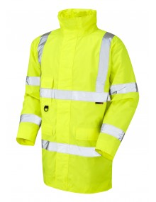 Leo Tawstock - ISO 20471 Class 3 Anorak A01-Y High Visibility